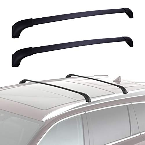 YITAMOTOR Roof Rack Cross Bars Compatible for 2014-2019 Toyota Highlander XLE, Crossbars Cargo Bag Rooftop Luggage Carrier Carrying Canoe Kayak Bike, Black