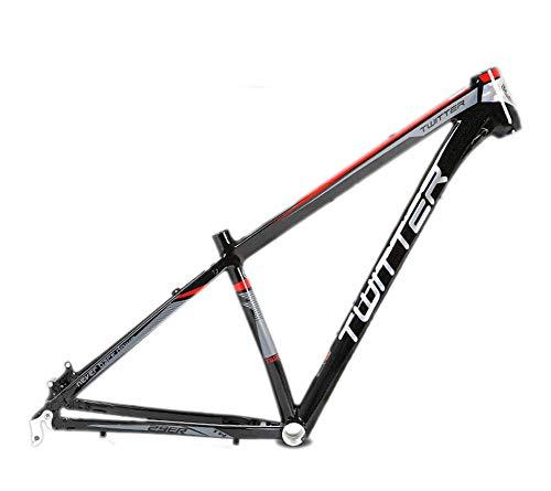 BIKERISK Marco de MTB 29er Marco de Bicicleta de montaña 15.5 17 19 inche Tamaño de Aluminio MTB Bicicleta de Marcos para la Rueda 29' Bastidor de la Bicicleta,Rojo,15.5