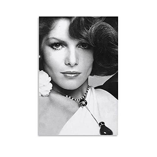 MATONG Lois Chiles Collection Tribut-Poster, dekoratives Gemälde, Leinwand, Wandkunst, Wohnzimmer, Poster, Schlafzimmer, Malerei, 20 x 30 cm