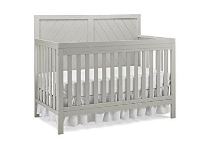 Fisher-Price Glendale 4-in-1 Convertible Crib, Cloud Grey from AmazonUs/BIVOD