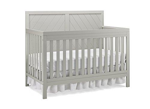 Fisher-Price Glendale 4-in-1 Convertible Crib, Cloud Grey