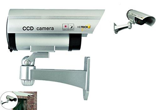 Hochwertige Kamera Attrappe Überwachungskamera Dummy mit blinkender LED