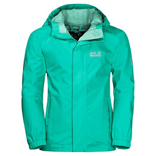 Jack Wolfskin Pine Creek Jacket, 104 (3-4 años), color menta