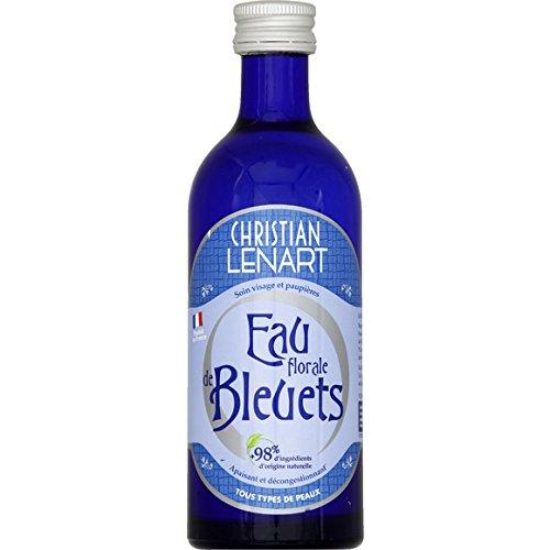 Christian Lenart - Eau de Bleuets @ base d'huiles essentielles, apaisante, d{congestionnante - Le flacon de 200ml - (pour la quantité plus que 1 nous