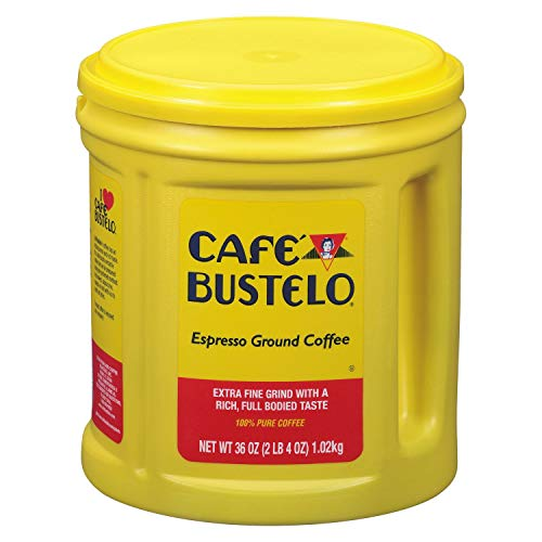 Cafe Bustelo Coffee Espresso, 36 Ounce, Pack of 3