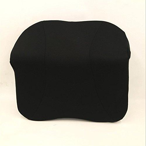 Amortiguador de la cubierta de microfibra almohada decorativa Cuello del coche amortiguador de la almohadilla del cuello del coche de la almohadilla for aumentar el uso del automóvil cojines lumbares