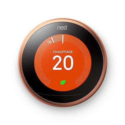 Nest Learning Thermostat, 3e génération, cuivre