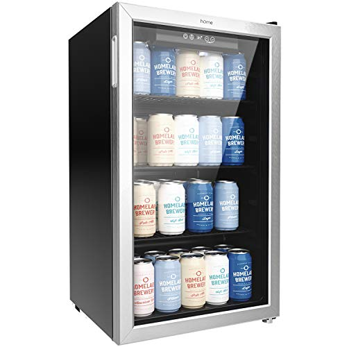 Our #7 Pick is the hOmeLabs Beverage Refrigerator and Cooler