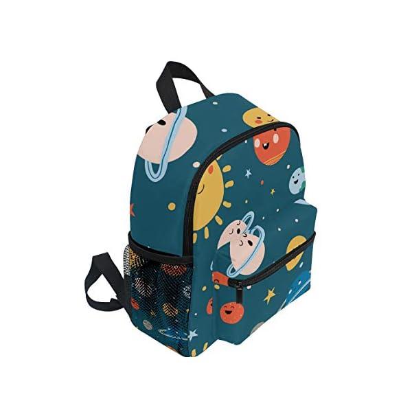 41nT42FUZXL. SS600  - CPYang Mochila para niños con sistema solar Planet Emoji School Bag Kindergarten Preescolar Mochila para niños y niñas