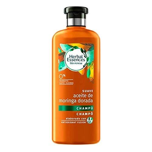 HERBAL Essences champú aceite de moringa dorada bio bote 400 ml
