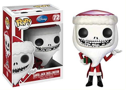 Funko Figura Pop Jack Skellington Santa Claus - Pesadilla Antes de Navidad