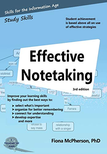 Compare Textbook Prices for Effective Notetaking Study Skills revised edition (3rd) Edition ISBN 9781927166529 by McPherson, Fiona