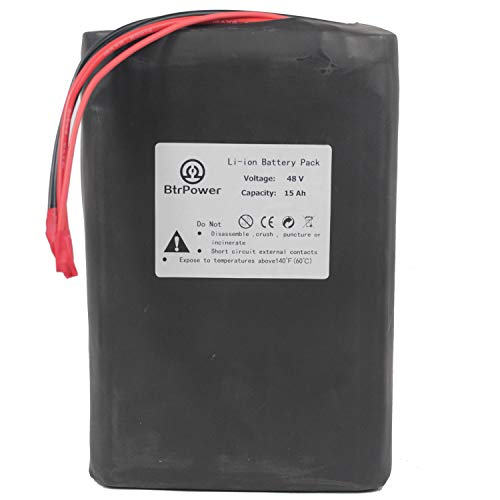 48V 15AH /48V 30AH Electric Ebike LiFePo4 / Li-ion Battery with 5A Lithium Battery Charger,500W 1000W 1500W Electric Bicycle Motor