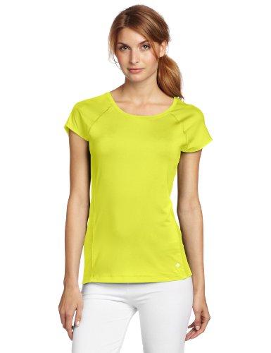 Columbia Summer Freeze - Camiseta de Manga Corta para Mujer, Mujer, Color Chartreuse, tamaño Small
