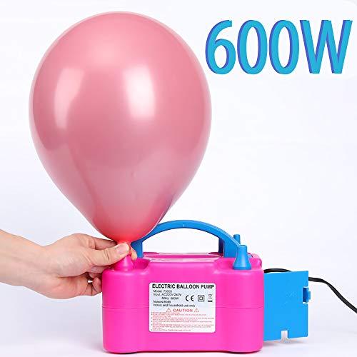 Turefans Elektrische Luftballon Pumpe, Ballonpumpe, 600W (1PC)