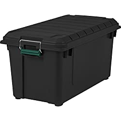 Remington 82 Quart WEATHERTIGHT Storage Box, Store-It-All Utility...