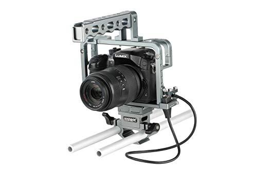 Sevenoak Jaula para cámara Panasonic Lumix DMC-GH3, GH4, GH5   Soporta cámara durante la grabación de acción - SKGHC5
