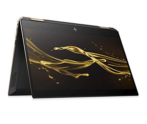 HP Spectre x360 13-ap0016ng (13,3 Zoll / FHD IPS Touch) Convertible Laptop (Intel Core i7-8565u, 256GB SSD, 8GB RAM, Intel UHD Graphics 620, Win 10 Home) Dark Ash Silber (Generalüberholt)