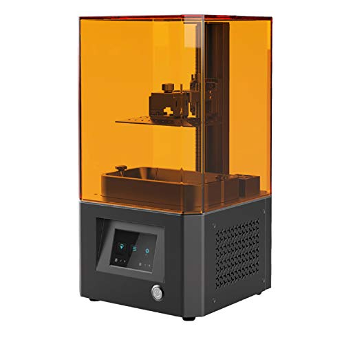 JFF LCD Resin 3D Printer with Air Filtering System And 3.5'' Smart Touch Color Screen Off-Line Print 4.69' X 2.56' X 6.29' Printing Size