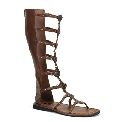 Pleaser - Roman15/bn/pu - Sandales gladiateur homme, marron (Brown), XL