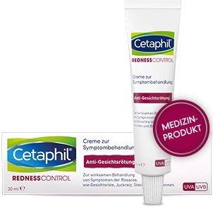 Cetaphil Redness Control Spar-Set 3x30ml. Zur Wirksamen Behandlung von Gesichtsröte, Stechen nund Brennen (Rosazea).