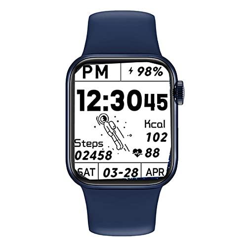 LKXL Smartwatches Reloj Inteligente Bluetooth Pulsera Deportiva Espacio para Platos de Salud