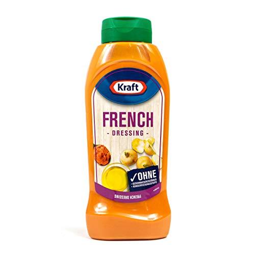 Kraft - French Dressing in 800 ml Flasche - Frenchdressing ideal für Salat und zum Verfeinern - Salatdressing mild-tomatig im Geschmack
