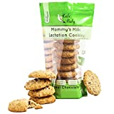 Café Baby Chocolate Chip Lactation Cookies for Breastfeeding | Large, Tasty & Fresh | Breast Milk Cookies Made with Brewers Yeast & Organic Flaxseed Meal | Lactation Supplement | 1 Bag