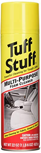 Tuff Stuff Foam Cleaner Multi-Purpose Cleaner, 22 oz Aerosol, 2 Pack