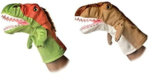 Aurora Bundle of 2 10'' Dinosaur Hand Puppets by AURORA