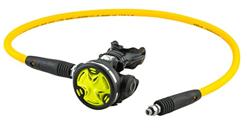 SEAC Scuba Diving Octo Synchro Regulator (Yellow with Hose)