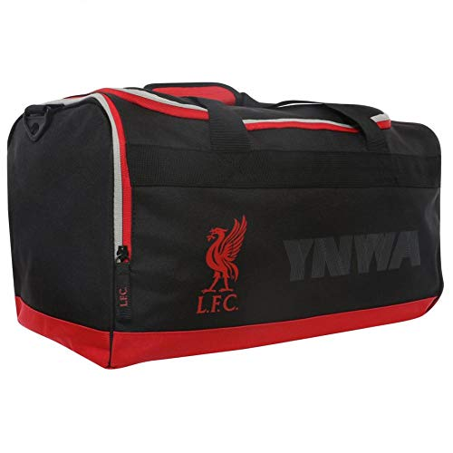 Liverpool F.C. Black and Red Travel Bag