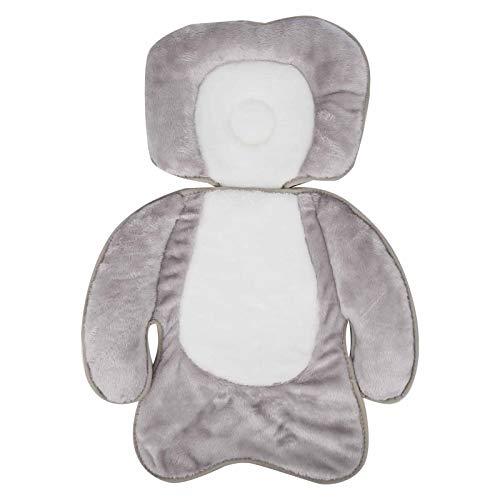 Almohada de apoyo para la cabeza y el cuello del bebé para recién nacidos, cómodo cojín del asiento del cochecito de bebé Almohada antivuelco
