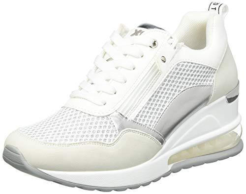 XTI 42626, Zapatillas Mujer, Blanco, 40 EU
