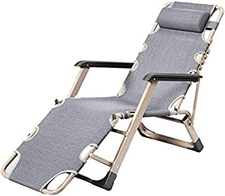 Beach Folding Bed/Portable Nap Deck/Garden Lounge Chair,Oxford Fabric, Office/Garden/Camping, Support 200Kg.