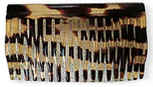 Efalock Havanna Peignes en celluloïd, lot d'1, (1 x 1 pièce)