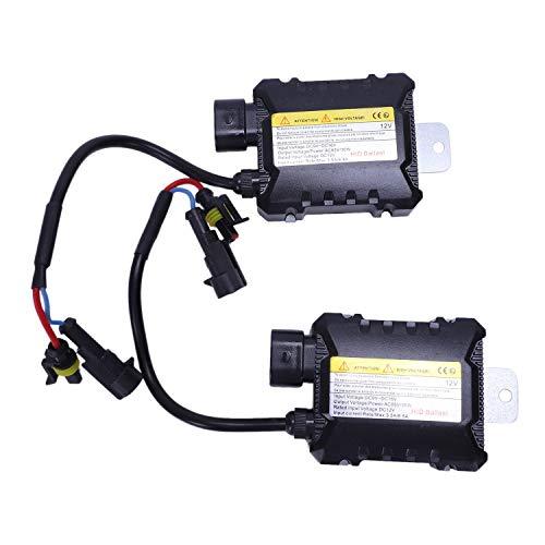 Vaorwne R 1 Paar Auto Niederspannung HID-Xenon Ballast 35W 12V 10A Fuer H1 H3 H7 H8 H9 H10 H11