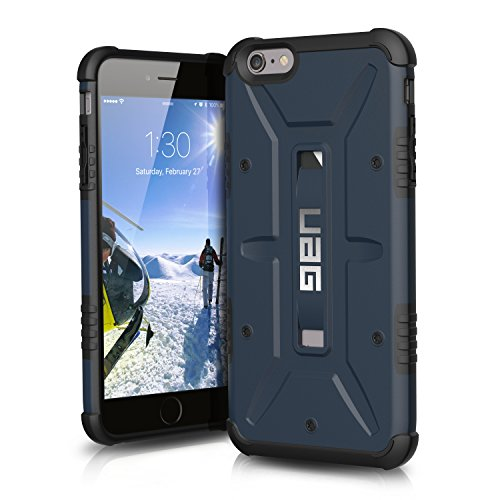 "URBAN ARMOR GEAR UAG-IPH6/6SPLS-SLT-VP Coque Composite pour iPhone 6 Plus / 6S Plus (5.5 ""Display) Bleu"