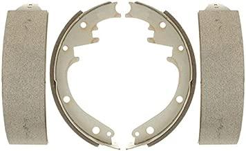 ACDelco Silver 14473B Bonded Rear Drum Brake Shoe Set