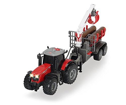 DICKIE 203737001 Traktor Massey Ferguson 8737