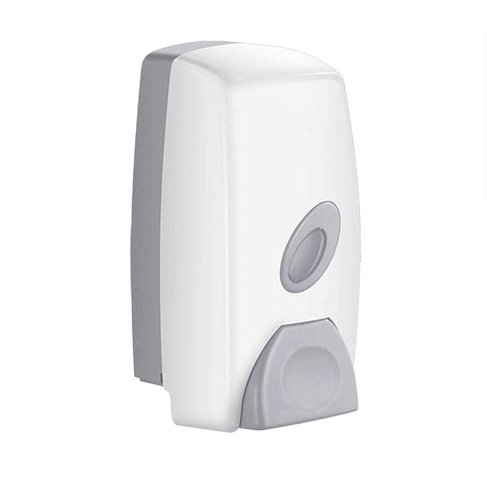 製油所でも安全FZJDX ソープディスペンサー - キッチン浴室の壁に取り付けられたシングルヘッドのソープディスペンサー丨リキッドソープコンテナ丨ハンドジェルディスペンサー
