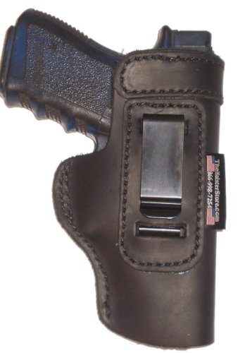 Walther PK380 With Factory Laser Light Weight Black Right Hand Inside The Waistband Concealed Carry Gun Holster