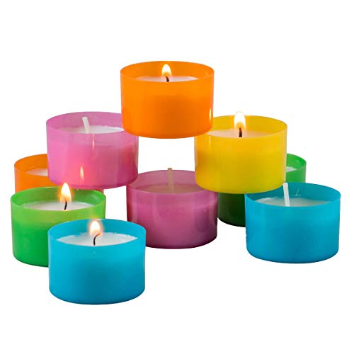 for Various Occasions Scented Tea Light Candles Modern Lights Tea Light Scented Candles Pack of 48 Highly Scented Tea Light Gift Set Luxury Tealight Candles Gift Set