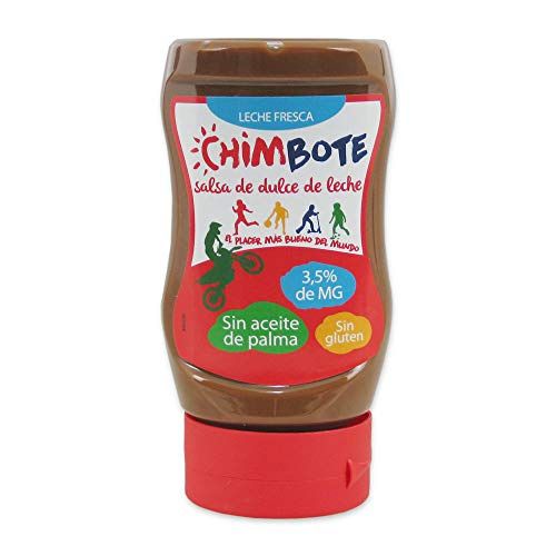 Chimbote- Salsa de Dulce de Leche- El placer Mas bueno del Mundo - SIN Aceite de Palma - SIN GLUTEN- 370 G
