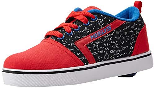 Heelys Unisex GR8 Pro Prints (he100638) Sneaker, Rot (Red/Black/Blue/Chemistry Red/Black/Blue/Chemistry), 39 EU