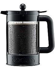 Bodum Bean Cold Brew koffiezetapparaat set, 1,5 l, 56 oz, zwart, 12,5 x 20x22,7 cm