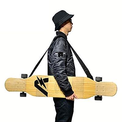 YS Sport Skateboard Shoulder Carrier Longboard Carry Strap Boards