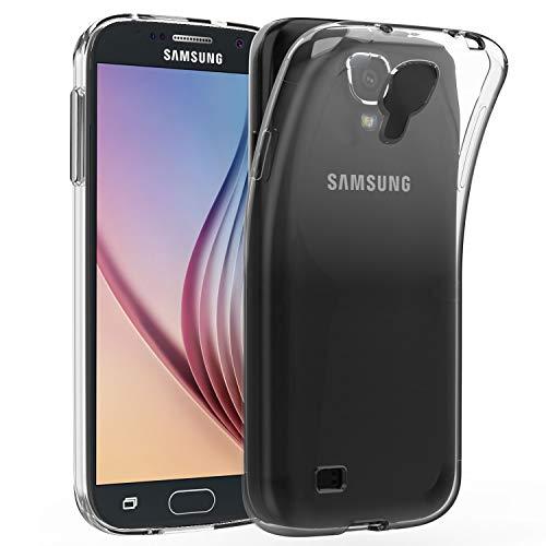 PIRABADI - Cover per Samsung Galaxy S4 [Gel Trasparente] Silicone Case Cover Crystal Chiaro Soft Gel TPU Protezione Trasparente