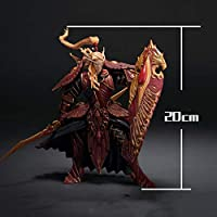 SSLHry 世界of Warcraftのアクションフィギュア血の騎士ゲーム図PVCスタチュー