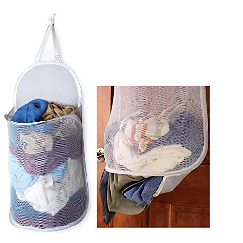 Mesh Over the Door Laundry Hamper
